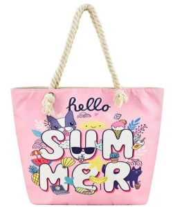 Designer Summer Pineapple Canvas Tote Bag FC00647