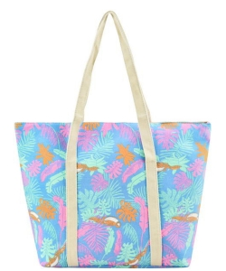 Designer Tropical Canvas Tote Bag FC00532