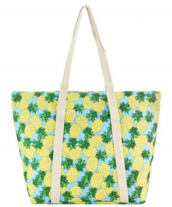 Designer Tropical Canvas Tote Bag FC00535