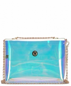 Clear Cross Body Hologram BGS2517