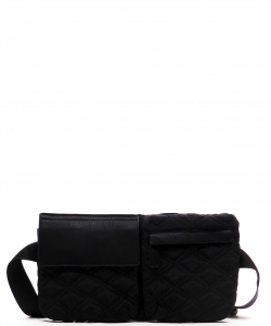 Designer Inspired Handbag T100 BLACK