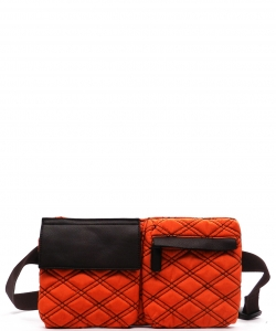 Designer Inspired Fanny Bag T100 ORANGE
