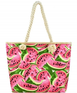Designer Watermelon Canvas Tote Bag FC00502