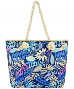 Designer Tropical Canvas Tote Bag FC00502
