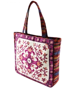 Embroidered Large Fashion Tote Bag FC00171