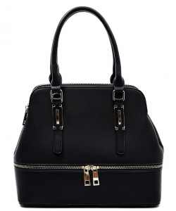Fashion Zip Top Handle Satchel LW1402A