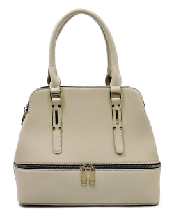 Fashion Zip Top Handle Satchel LW1402A BY