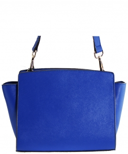 Luxury Genuine Leather Classic Clutch with Strap MTX5 BLUE