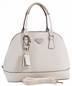 Promenade Bag, Satchel Handbag For Women, Classic Dome Bag ES1132 BIEGE