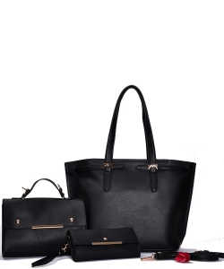 Fashion Top Handle 3-in-1 Shopper 83219-1 BLACK