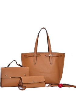 Fashion Top Handle 3-in-1 Shopper 83219-1 CAMEL