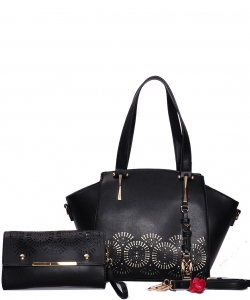 Fashion Top Handle 2-in-1 Shopper 4096 BLACK