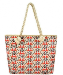 Designer Toucan Canvas Tote Bag FC00493