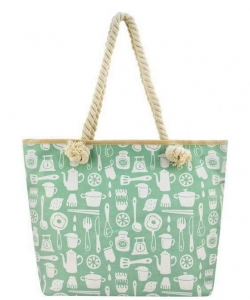 Designer Toucan Canvas Tote Bag FC00511