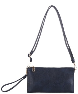 Multi compartment Wristlet Cross Body FC-19107 NAVY