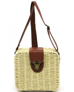 Straw Trendy Fashion Bag PB00221