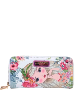 Nikky by Nicole Lee Morwenna Wallet NK20376  FLOWERS WT