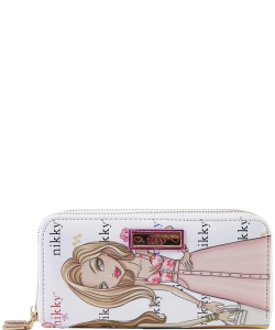 Nikky by Nicole Lee Morwenna Wallet NK20376  FRIENDS WT