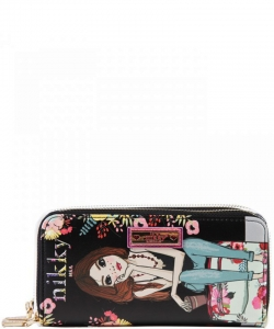 Nikky by Nicole Lee Morwenna Wallet NK20376  TRAVEL BK