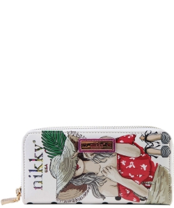 Nikky by Nicole Lee Morwenna Wallet NK20376  HIDE WT