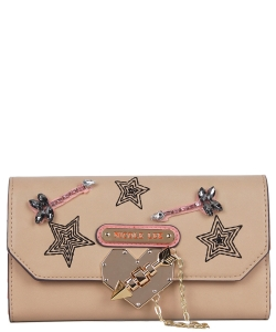 Nicole Lee Ivana Wallet STR6606 BEIGE