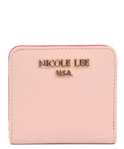 Nicole Lee Kyra Mini biFold Wallet P6118 BEIGE