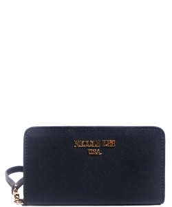 Nicole Lee Leigh Wallet with Cellphone Compartment P6144  NAVY