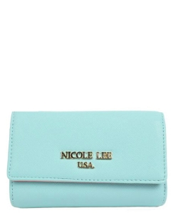 Nicole Lee Yulissa Wallet P6147 BLUE