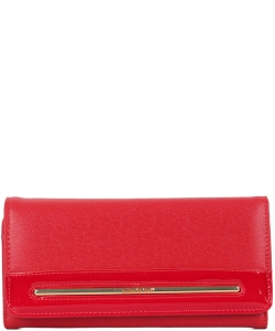 NL Fold Over Top Wallet P6414 RED
