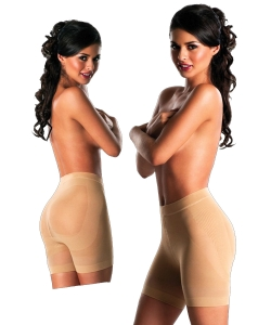 Low Waist Hip Up 5330  BEIGE