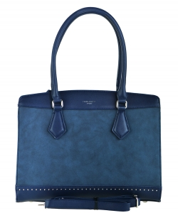 David Jones Tote handbag PR5707-2 BLUE
