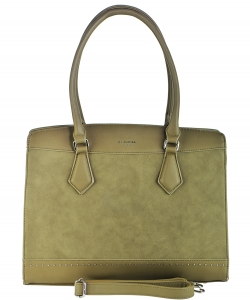 David Jones Tote handbag PR5707-2 KHAKI