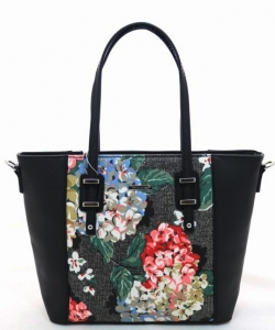 David Jones Tote handbag 5750-2 BLACK
