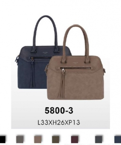 David Jones Fashion handbag 5800-3 10 PCS Per Box Assorted