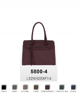 David Jones Fashion handbag 5800-4 10 PCS Per Box Assorted