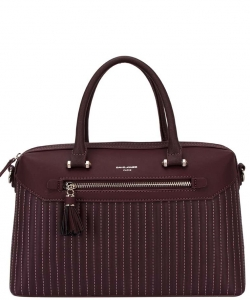 David Jones Tote handbag 5823-3 BORDEAUX