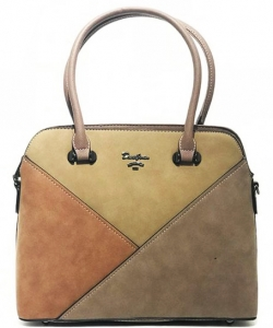 David Jones Tote handbag 5833-1 DBROWN