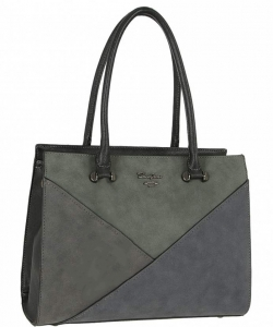 David Jones Tote handbag 5833- BLACK