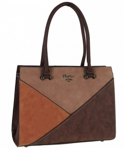 David Jones Tote handbag 5833- 2 DBROWN