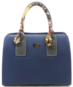 David Jones Tote handbag 5841-2 DBLUE/BLACK