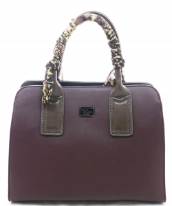 David Jones Tote handbag 5841-2 PURPLE/DGREY