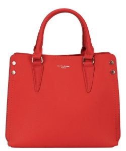 David Jones Women's Bag from Eco - Leather 5953-2 Red
