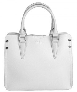 David Jones Women's Bag from Eco - Leather 5953-2 White