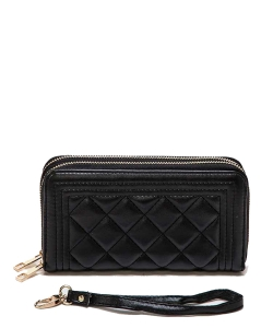 Michelle Obama Magazine wallet 6106 BLACK/WHITE