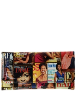 Michelle Obama Magazine wallet MULTI