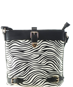 Zebra Print Handbag for Women