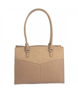 David Jones Hand Bag 6234-2 Camel