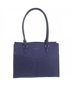 David Jones Hand Bag 6234-2 DBlue
