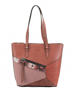 David Jones Handbag 6238-3 BRICK RED