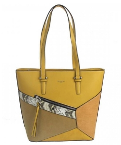 David Jones Handbag 6238-3 YELLOW